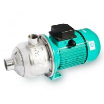 威乐 WILO MHI404-1/10/E/1-220-50-2 卧式离心泵 不锈钢泵 卧式泵 循环泵 单相220V 750W 进口Rp1-1/4内螺纹 出口Rp1内螺纹 -15~110℃水 泵头全不锈钢
