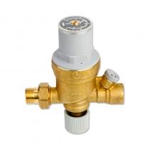 卡莱菲 CALEFFI 553540 可视调节型自动补水阀 无压力表 G1/2接口(4分管螺纹)调压范围0.2~4bar