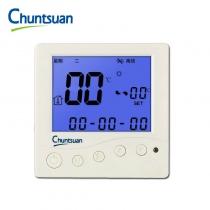 春泉 Chuntsuan 云温控器 CWK200 风机盘管温控器 WIFI温控器 可手机操控 适用于2管制系统 3速风机 220VAC 具有温限和时段设置功能 云诊断功能