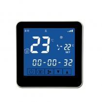 春泉 Chuntsuan 云温控器 CWK202 风机盘管温控器 WIFI温控器 可手机操控 适用于2管制系统 3速风机 220VAC 具有温限和时段设置功能 云诊断功能
