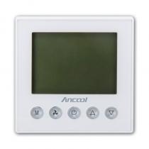 ANCOOL 智能温控器 T100R 空调+地暖 带联控功能 RS485-Modbus通讯功能 适用于两管制和四管制系统