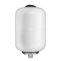 ACOL AT008L-1-W-F 囊式膨胀罐(立式) 压力罐/气压罐 8L 不锈钢接口 G3/4外螺纹(6分管螺纹) 最大承压10bar 白色 EPDM橡胶球囊
